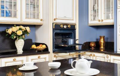 Фотосъемка встраиваемой бытовой техники в интерьере кухни