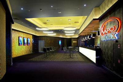 Интерьерная фотосъемка кафе кинотеатра