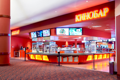 Интерьерная фотосъемка кинотеатра